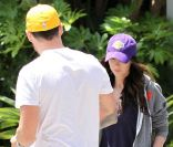 Megan Fox et Brian Austin Green à Los Angeles, le 29 avril 2012.