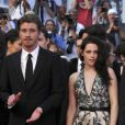 Garrett Hedlund et Kristen Stewart à Cannes, le 23 mai 2012.