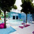 La piscine de la maison de Secret Story 6