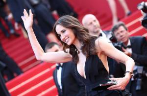 Cannes 2012 : Andie MacDowell, diva glamour, fait une apparition splendide