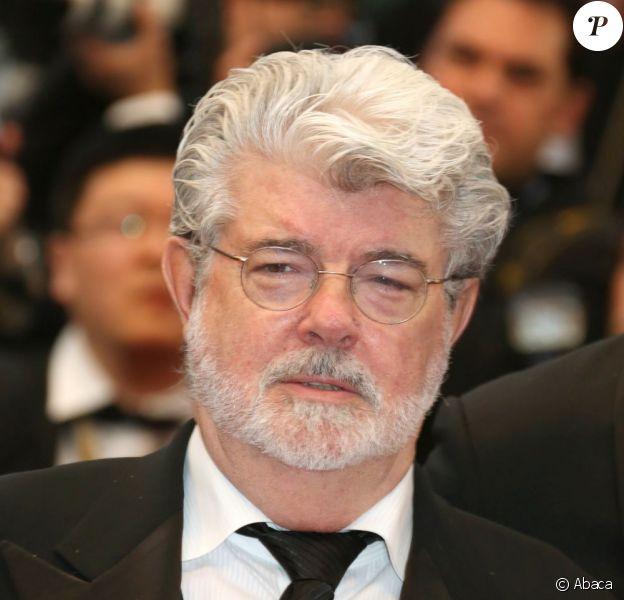 George Lucas au Festival de Cannes pour présenter Red Tails, le 25 mai 2012.