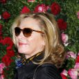 Kim Cattrall au dîner Chanel organisé en marge du festival de cinéma de Tribeca à New York, le 24 avril 2012.