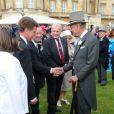 Le duc d'Edimbourg lors de la deuxième garden party à Buckingham Palace, le 29 mai 2012, dans le cadre des célébrations du jubilé de diamant de la reine Elizabeth II.
