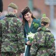 Kate Middleton en Emilia Wickstead lors de la St Patrick 2012