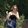 Miley Cyrus s'apprête à retrouver Liam Hemsworth, le dimanche 13 mai 2012.