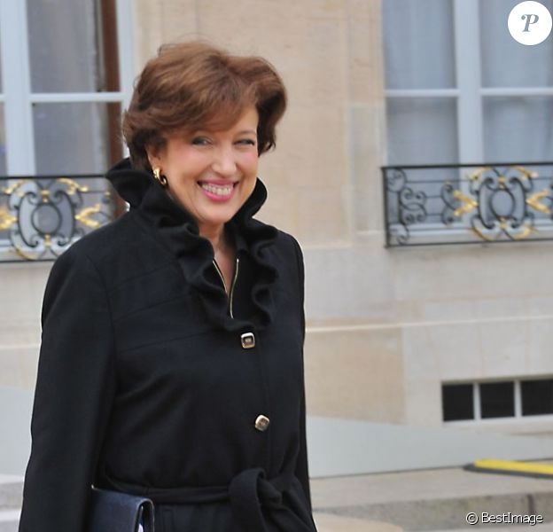 Roselyne Bachelot à l'Elysée, le 11 janvier 2012.