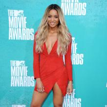 Ciara assiste à la soirée des MTV Movie Awards 2012, à Universal City (Los Angeles), le dimanche 3 juin 2012.