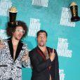 Le groupe LMFAO assiste à la soirée des MTV Movie Awards 2012, à Universal City (Los Angeles), le dimanche 3 juin 2012.
