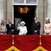 Jubilé : Elizabeth II avec Kate Middleton et Camilla au balcon de Buckingham