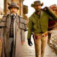 Christophe Waltz et Jamie Foxx, héros de  Django Unchained , un film de Quentin Tarantino. En salles le 16 janvier 2013.