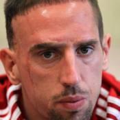 Franck Ribéry énervé par la blague douteuse de Michel Platini