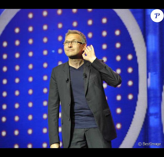 Laurent Ruquier lors de la générale du spectacle On n'demande qu'à en rire au Casino de Paris le 6 juin 2012