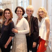 Alexandra Golovanoff et Mademoiselle Agnès pétillantes pour un cocktail mode