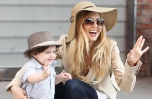 Rachel Zoe et son fils Skyler, un duo adorable qui dévalise les boutiques
