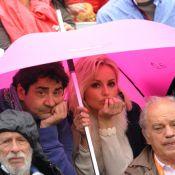 Finale Nadal-Djokovic : Adriana Karembeu et Thomas Dutronc sortent le parapluie