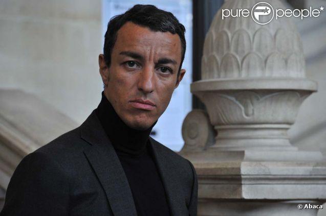 Karim Achoui devant le tribunal de Paris, le 31 août 2010.