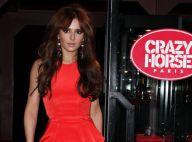 Cheryl Cole complètement crazy et pomponnée pour le temple du nu parisien
