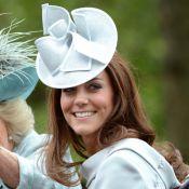 Kate Middleton radieuse, prince William à cheval pour l'anniversaire de la reine
