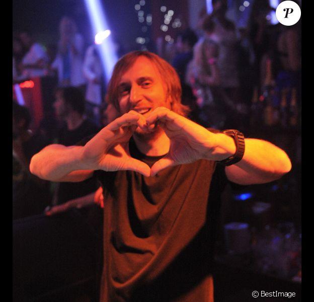 David Guetta à Cannes, le 22 mai 2012.