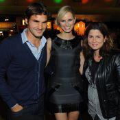 Roger Federer : Jolie soirée avec sa Mirka et Karolina Kurkova