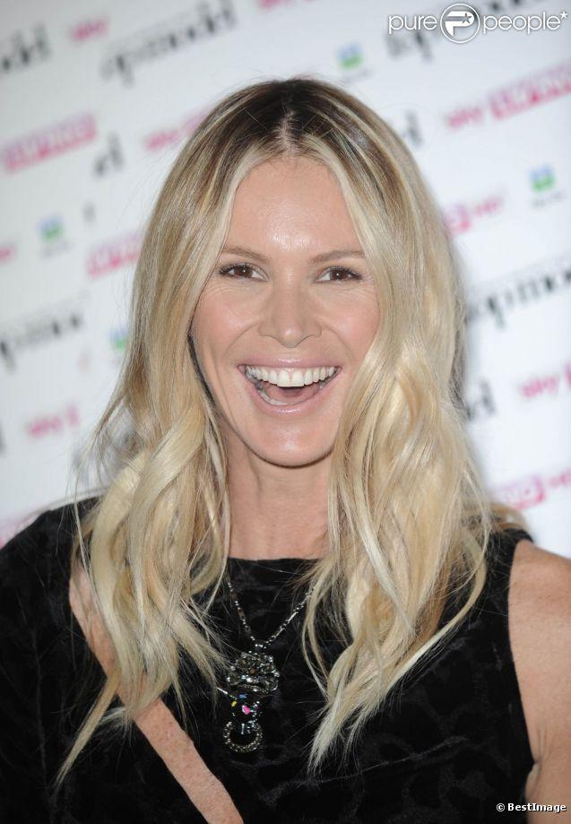 Elle Macpherson lors de la conférence de presse de Britain and Ireland's Next Top Model le 19 juin 2012 à Londres