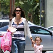 Alessandra Ambrosio : Moment de complicité avec sa jolie fille Anja