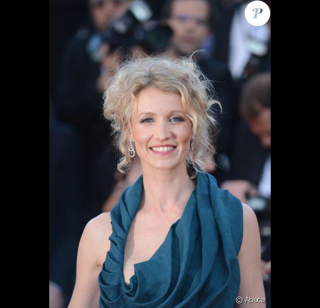 Alexandra Lamy au Festival de Cannes 2012