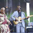 Amadou et Mariam au festival Solidays à Paris, le 24 juin 2012.
