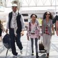 """""""Willow Smith entourée de sa mère Jada et son père Will à Los Angeles le 5 mai 2012"""""""