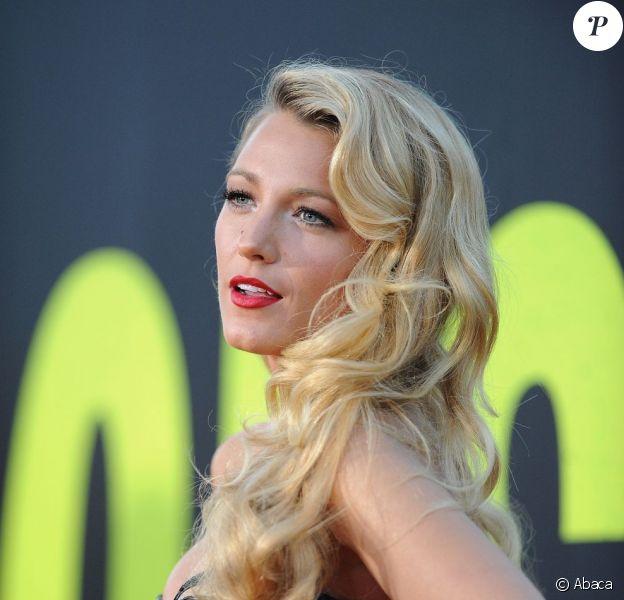 Blake Lively lors de la première de Savages à Los Angeles le 25 juin 2012