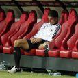 Mario Gomez durant la demi-finale de l'Euro 2012 perdue par l'Allemagne face à l'Italie, le 28 juin 2012 à Varsovie, en Pologne