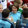 Kathrin Gilch durant la demi-finale de l'Euro 2012 perdue par l'Allemagne face à l'Italie, le 28 juin 2012 à Varsovie, en Pologne