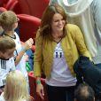 Sylwia Klose durant la demi-finale de l'Euro 2012 perdue par l'Allemagne face à l'Italie, le 28 juin 2012 à Varsovie, en Pologne