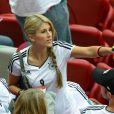 Sandra Schoenig durant la demi-finale de l'Euro 2012 perdue par l'Allemagne face à l'Italie, le 28 juin 2012 à Varsovie, en Pologne