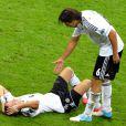 Sami Khedira durant la demi-finale de l'Euro 2012 perdue par l'Allemagne face à l'Italie, le 28 juin 2012 à Varsovie, en Pologne