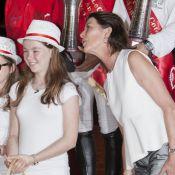 Les princesses Alexandra et Caroline aux premières loges du Jumping de Monaco