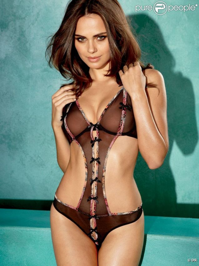 Xenia Deli, un fantasme bien vivant pour Frederick's Of Hollywood.