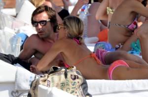 Andrea Pirlo : Entouré de son adorable famille, l'Italien se détend en vacances