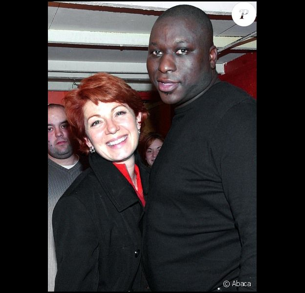 Mouss Diouf et Véronique Genest à Paris, en 2003.