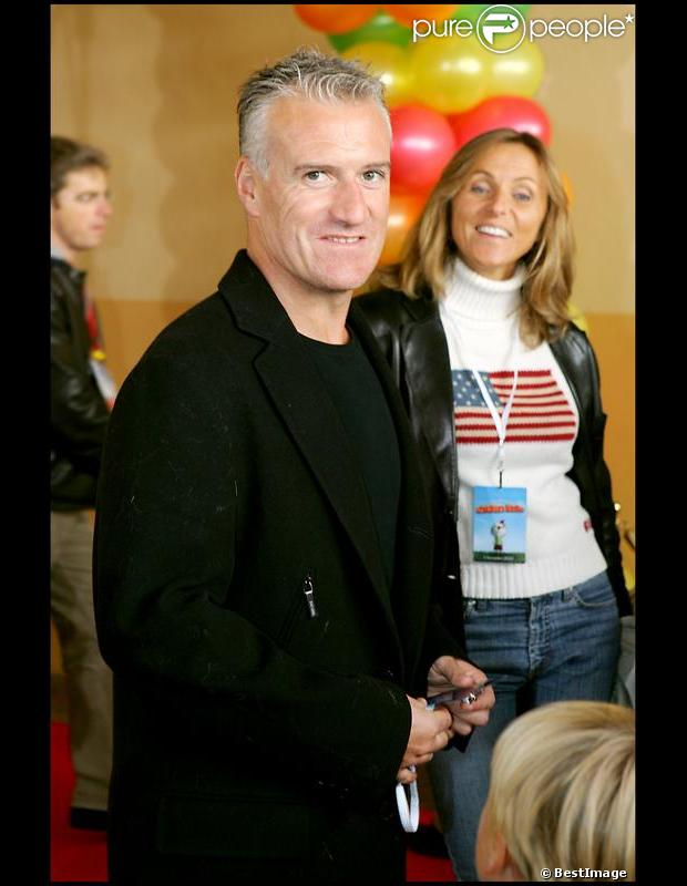 Didier Deschamps en 2005 à Paris.