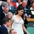 Lady Frederick Windsor à Wimbledon dimanche 8 juillet 2012.
