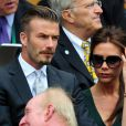 David et Victoria Beckham étaient à Wimbledon pour encourager depuis la loge royale Andy Murray en finale du tournoi londonien, dimanche 8 juillet 2012. Malgré l'Andymania de toute la nation et des people, l'Ecossais s'est incliné face à Roger Federer, victorieux pour la 7e fois à Wimbledon.