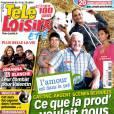 Télé Loisirs en kiosques le 9 juillet 2012