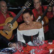 Princesse Stéphanie : Superbe gypsy de gala pour Chico et ses rythmes flamenco