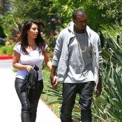 Kanye West et Kim Kardashian : Virée shopping et jolie déclaration d'amour