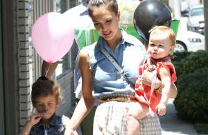 Jessica Alba : Escapade italienne avec ses filles et sa jolie maman