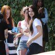 La chanteuse Lana Del Rey devant le Chateau Marmont à Los Angeles, le 11 juillet 2012.