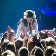 Lana Del Rey au Montreux Jazz Festival le 4 juillet 2012.