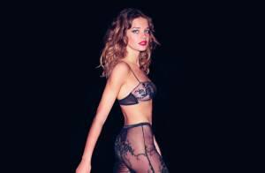 Natalia Vodianova envoûtante pour sa nouvelle collection de lingerie