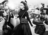 Mila Kunis divine star sixties pour Dior